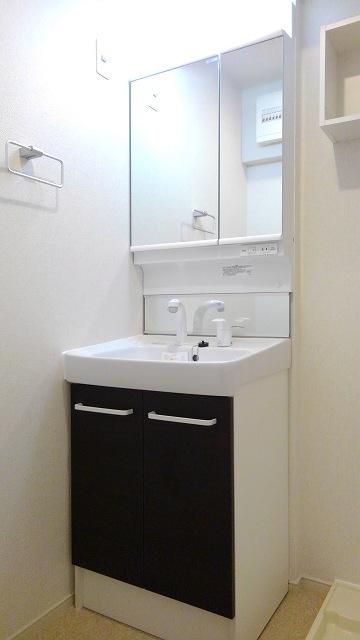 プロムローズST 02030号室の洗面所
