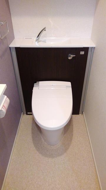 プロムローズST 02030号室のトイレ