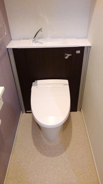 プロムローズST 03020号室のトイレ