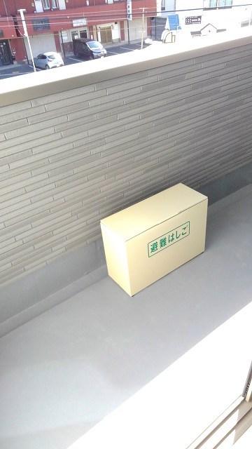 プロムローズST 03020号室のバルコニー
