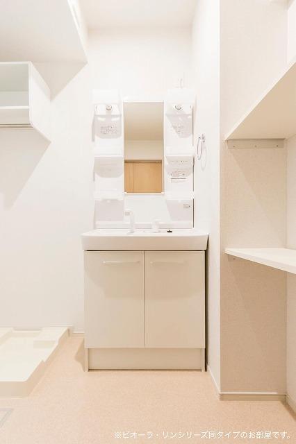 コリーヌ・シャン 01030号室の洗面所