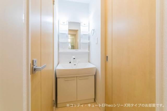 マローネⅢ 01010号室の洗面所