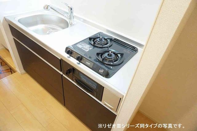 リーブル 03020号室のキッチン