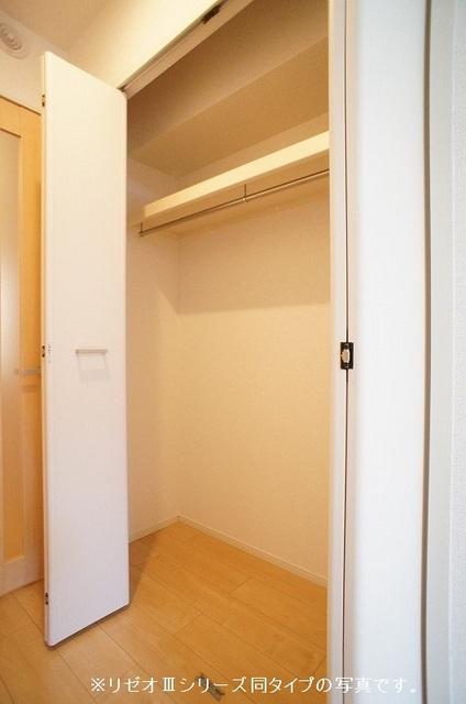 リーブル 03020号室の収納