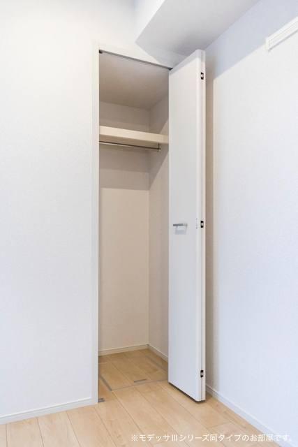 リベルテA 01010号室の収納