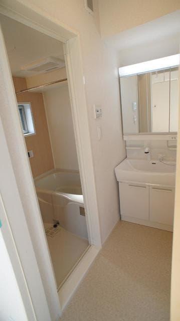 グランベルテⅤ 03010号室の洗面所