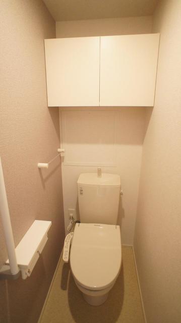 グランベルテⅤ 03050号室のトイレ