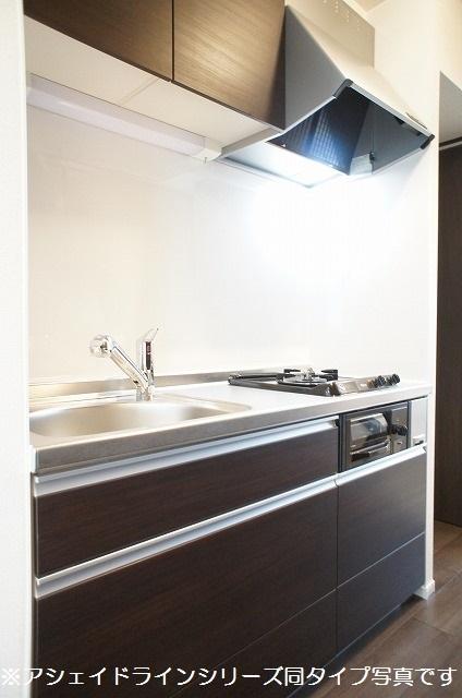 クラリスフィールド 02020号室のキッチン