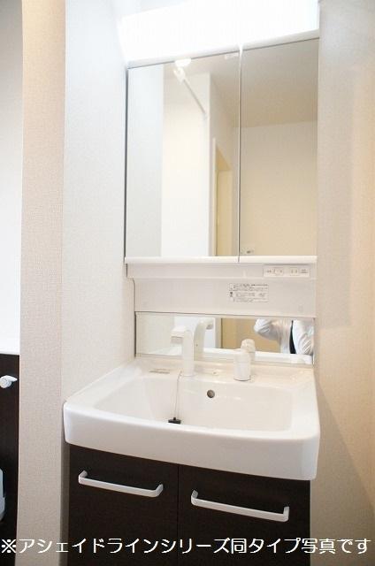 クラリスフィールド 02020号室の洗面所