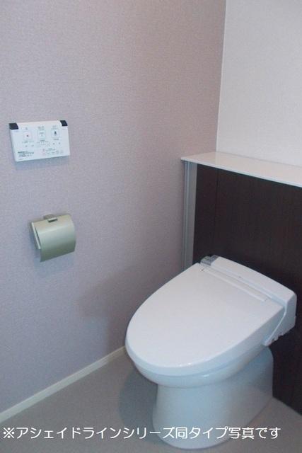 クラリスフィールド 02020号室のトイレ