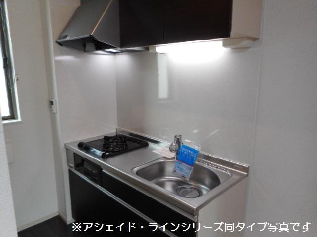 エクセレント タウン 02020号室のキッチン