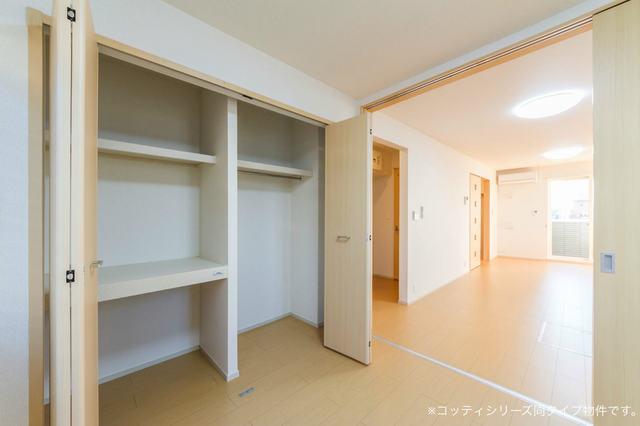 カーサ・ユーク 01020号室の収納