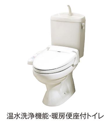 レジデンシアC 01010号室のトイレ