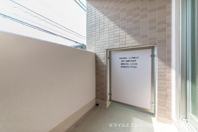 サニー・ブライト桜木 03030号室のバルコニー