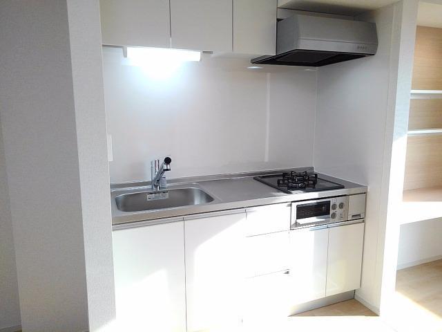 グレート・フォンテーヌⅡ 01010号室のキッチン