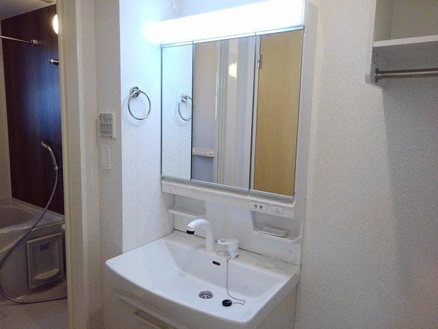 グレート・フォンテーヌⅡ 01010号室の洗面所