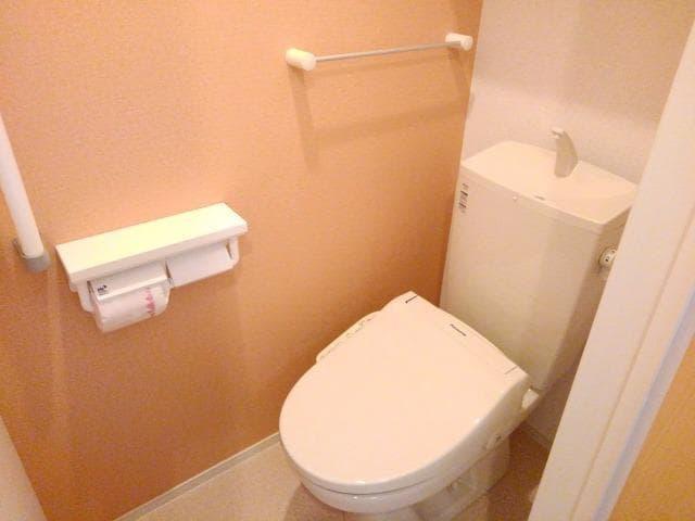 グレート・フォンテーヌⅡ 01010号室のトイレ