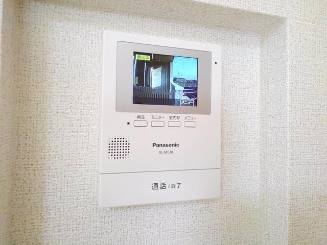 グレート・フォンテーヌⅡ 01010号室のセキュリティ