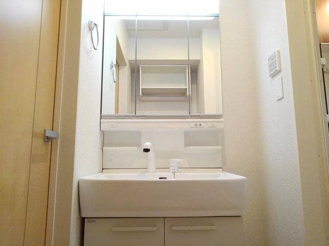 グレート・フォンテーヌⅡ 02020号室の洗面所