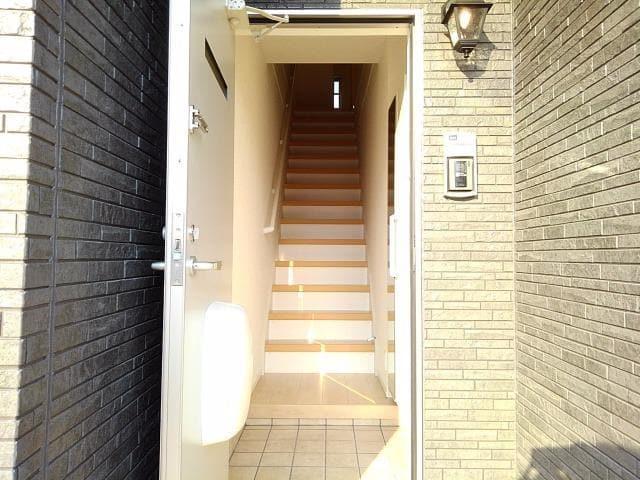 グレート・フォンテーヌⅡ 02020号室の玄関