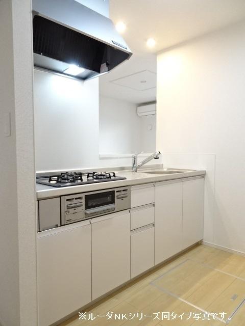 エスポワール道 01030号室のキッチン