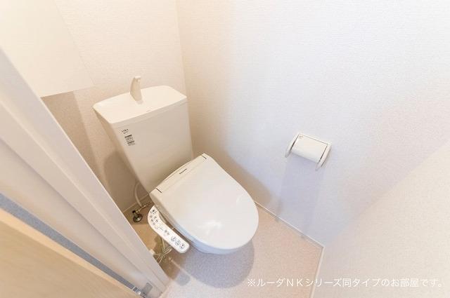 エスポワール道 01030号室のトイレ