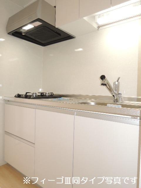 ブリリアント ガーデン 01010号室のキッチン