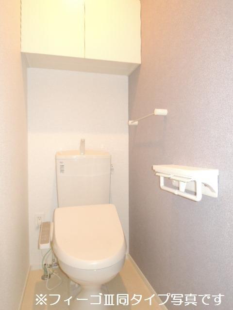 ブリリアント ガーデン 01010号室のトイレ