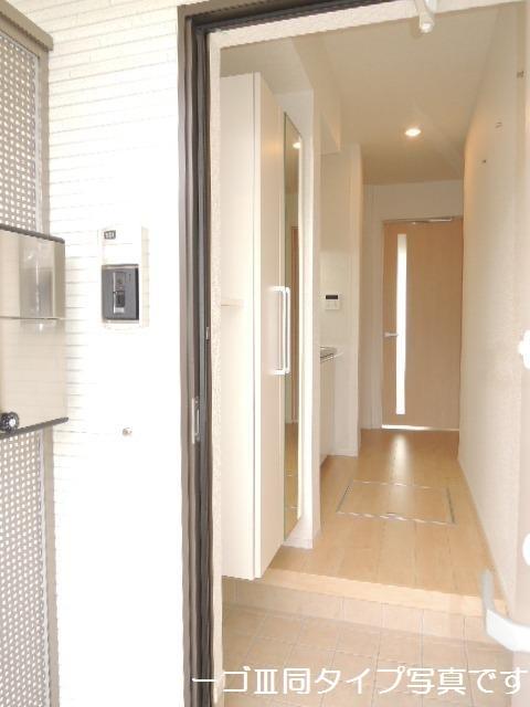 ブリリアント ガーデン 01010号室の玄関