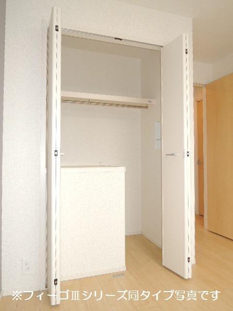 ブリリアント ガーデン 02010号室の収納