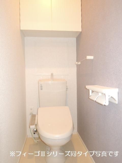 ブリリアント ガーデン 02010号室のトイレ
