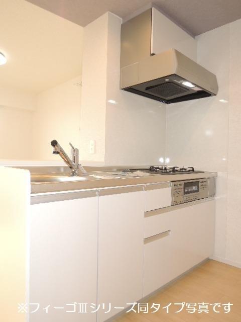 ブリリアント ガーデン 02040号室のキッチン
