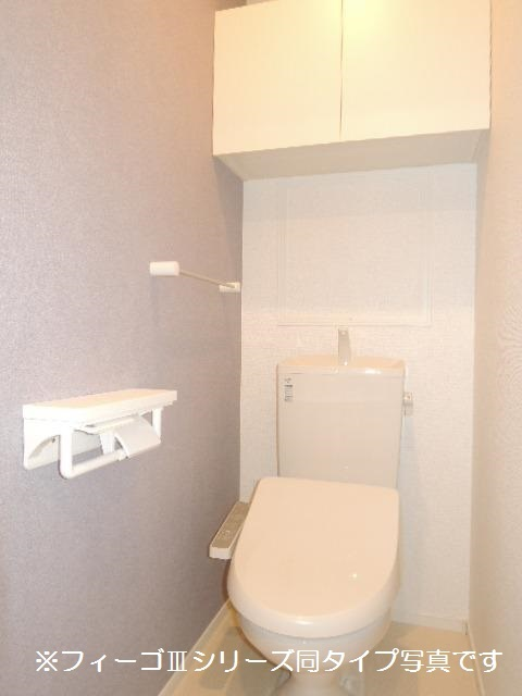 ブリリアント ガーデン 02040号室のトイレ