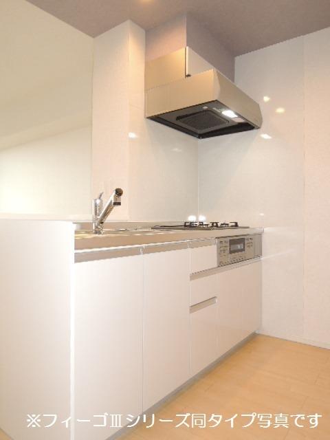 ブリリアント ガーデン 03030号室のキッチン