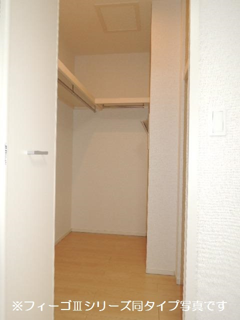 ブリリアント ガーデン 03030号室の収納
