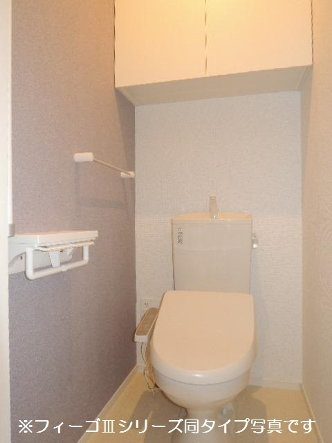 ブリリアント ガーデン 03030号室のトイレ