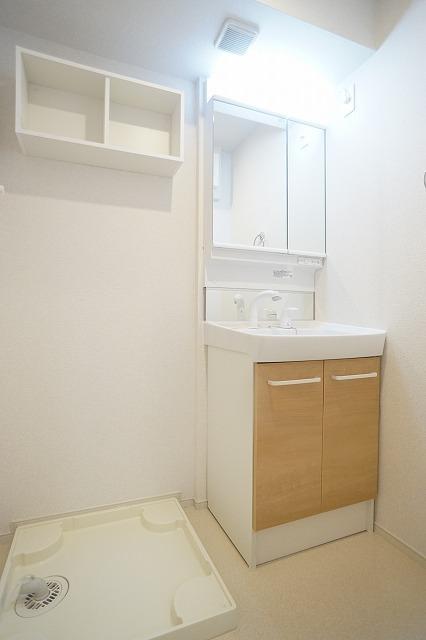 ブッシュ クローバー Ⅶ 01030号室の洗面所
