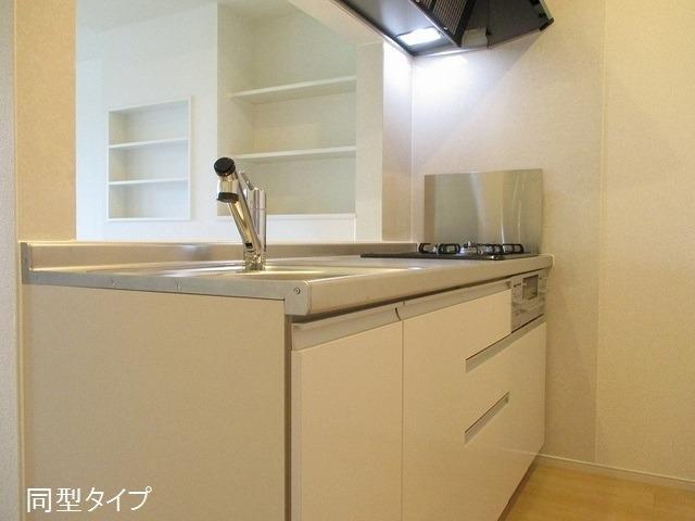 アソシエ 01020号室のキッチン