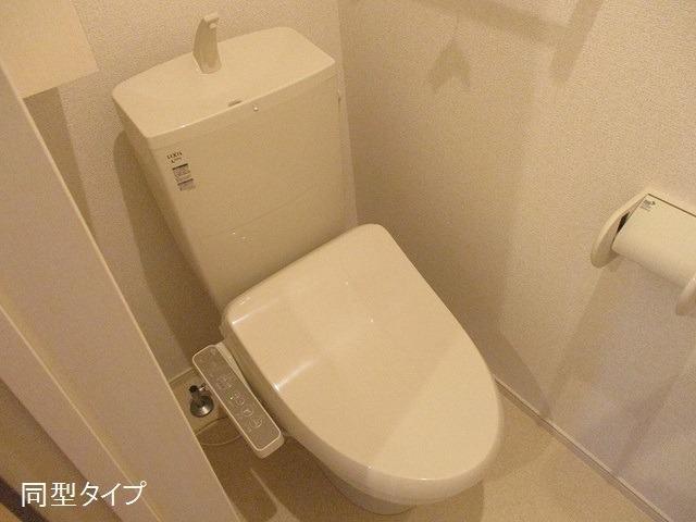 アソシエ 01020号室のトイレ