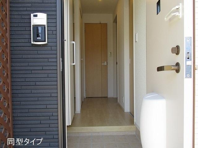 アソシエ 01020号室の玄関