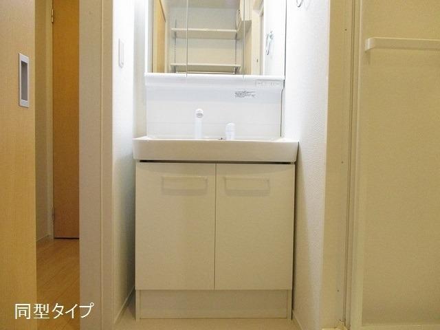 アソシエ 01020号室の洗面所