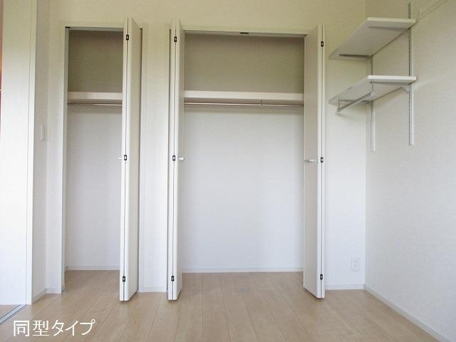 アソシエ 01020号室の収納