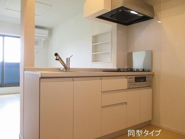 アソシエ 02030号室のキッチン
