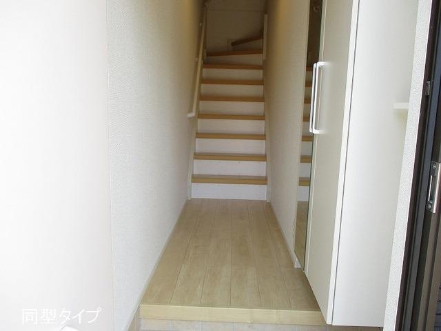 アソシエ 02030号室の玄関