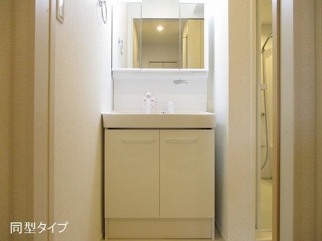アソシエ 02030号室の洗面所