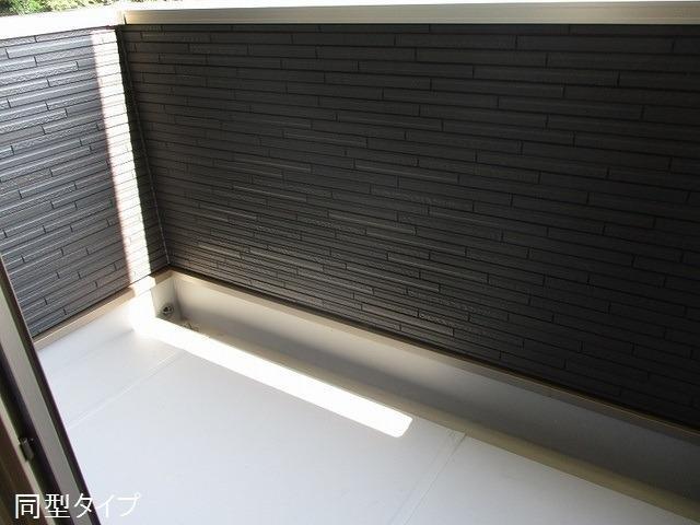 アソシエ 02050号室のバルコニー