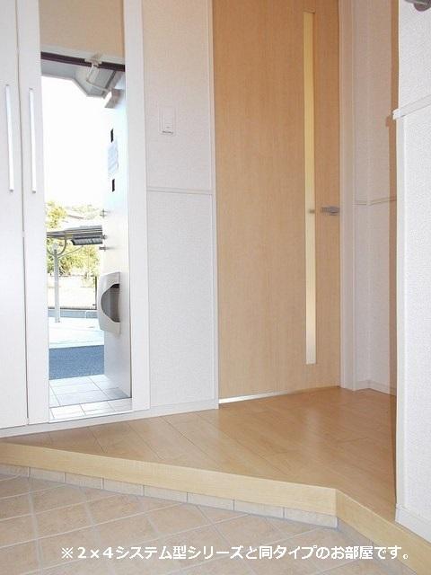 メゾン・ラフレシール A 01020号室の玄関