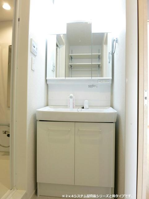 メゾン・ラフレシール B 01010号室の洗面所