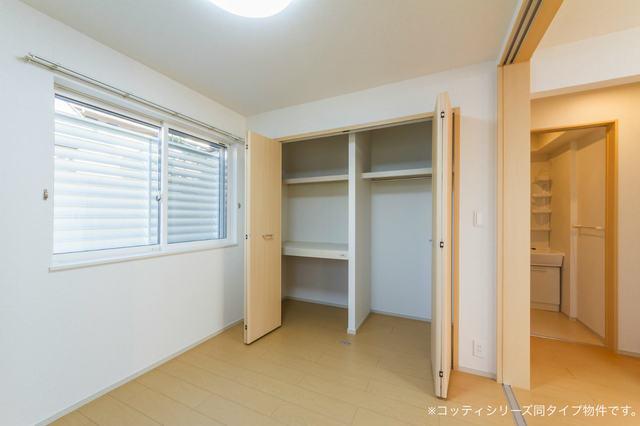 クレール フォンテーヌ 01010号室の洗面所