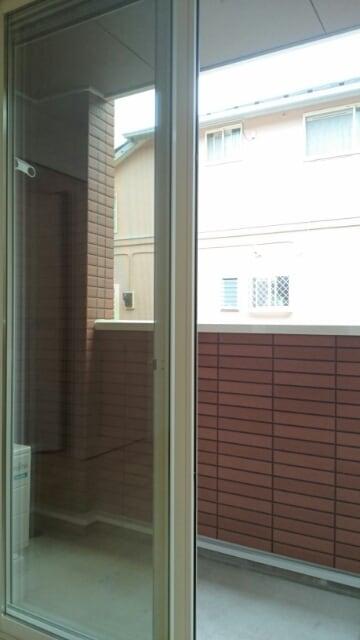 クレール フォンテーヌ 01010号室のバルコニー